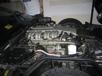 1991 Chevrolet Corvette ZR1, 1991 Chevrolet Corvette 2 Dr ZR1 Hatchback picture, engine