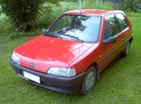Picture of 1992 Peugeot 106, exterior