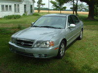 2004 Kia Optima LX V6, 2004 KIA Optima LS, exterior