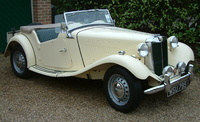 1950 MG TD picture, exterior