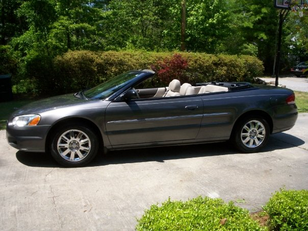 hudson gallery chrysler sebring 2004 convertible. Black Bedroom Furniture Sets. Home Design Ideas