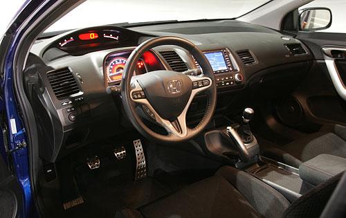 Honda Civic Si 2008 Interior