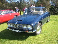 1963 Alfa Romeo 2600 Overview