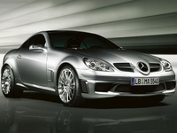 2009 Mercedes-Benz SLK-Class Picture Gallery