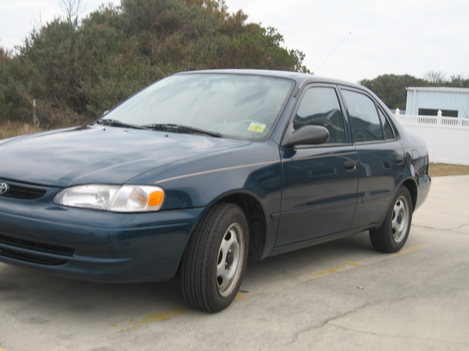 picture of 1998 toyota corolla ce exterior. Black Bedroom Furniture Sets. Home Design Ideas