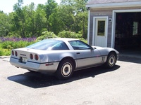 1984 Chevrolet Corvette Base, 1984 Chevrolet Corvette Coupe picture, exterior