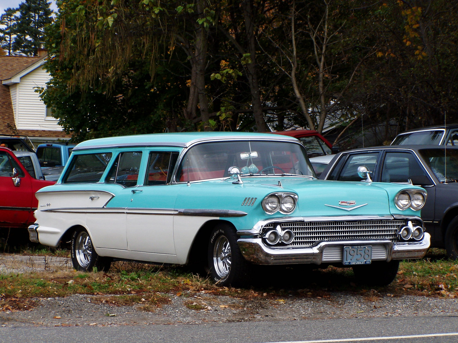 1958 chevy station wagons for autos post. Black Bedroom Furniture Sets. Home Design Ideas