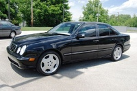 2002 Mercedes-Benz E-Class E55 AMG, 2002 Mercedes-Benz E55 AMG 4 Dr STD Sedan picture, exterior