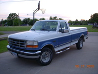 1992 Ford F-150 XL 4WD LB, 1992 Ford F-150 2 Dr XL 4WD Standard Cab LB picture, exterior