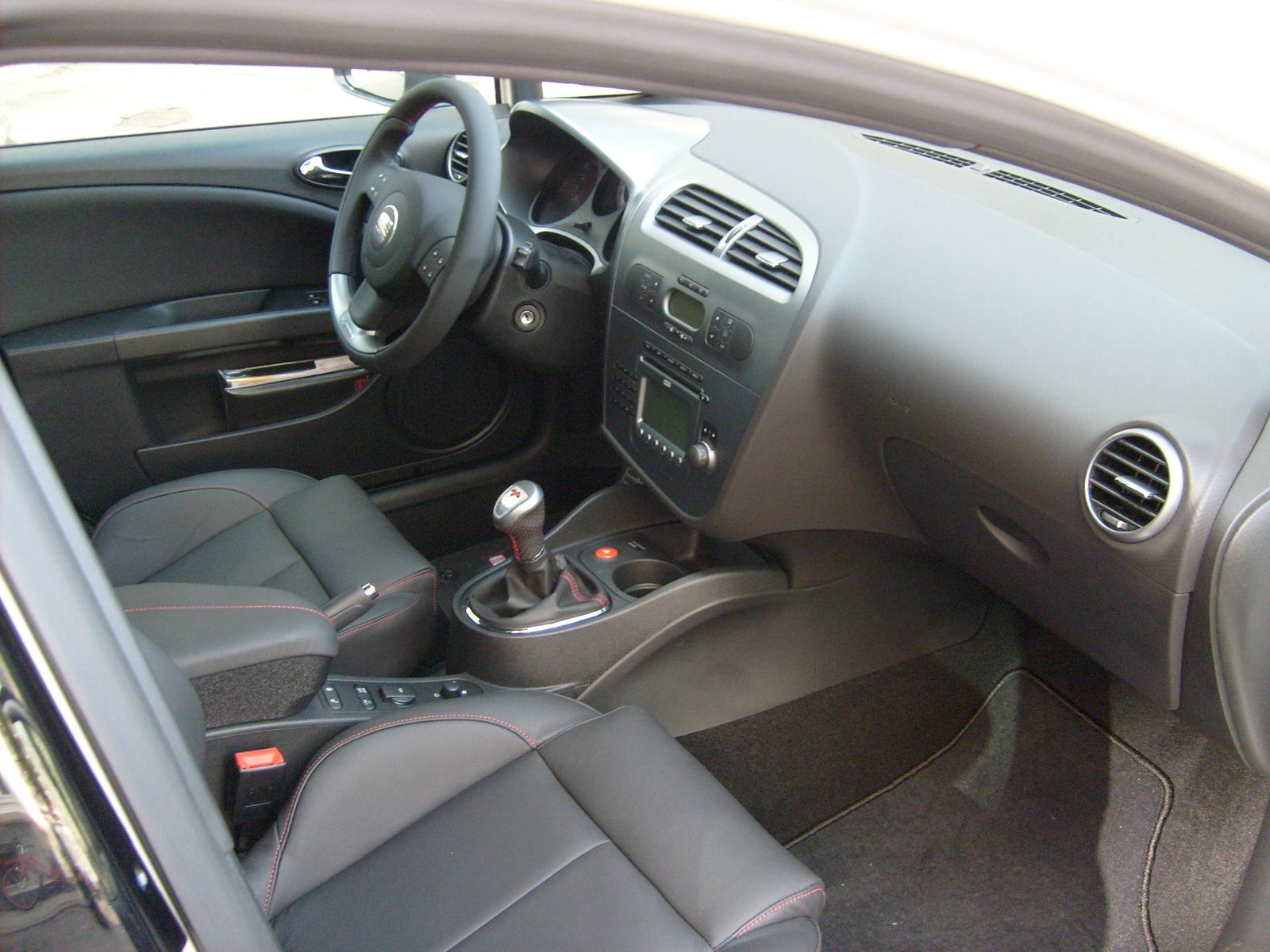 2008 seat leon interior pictures cargurus for Interior seat leon
