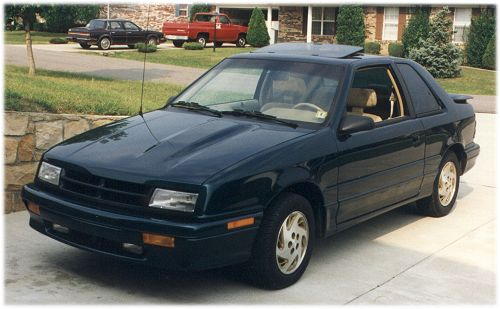 1993 Dodge Shadow 2 Dr ES