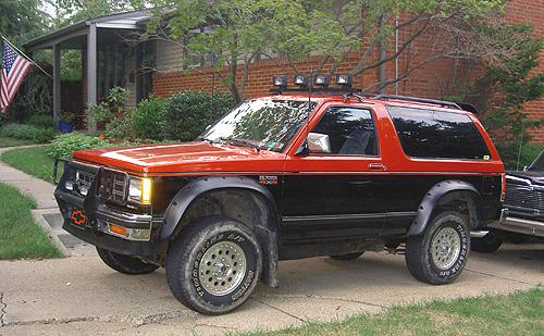 1988 Chevrolet S-10 Blazer - Exterior Pictures - CarGurus