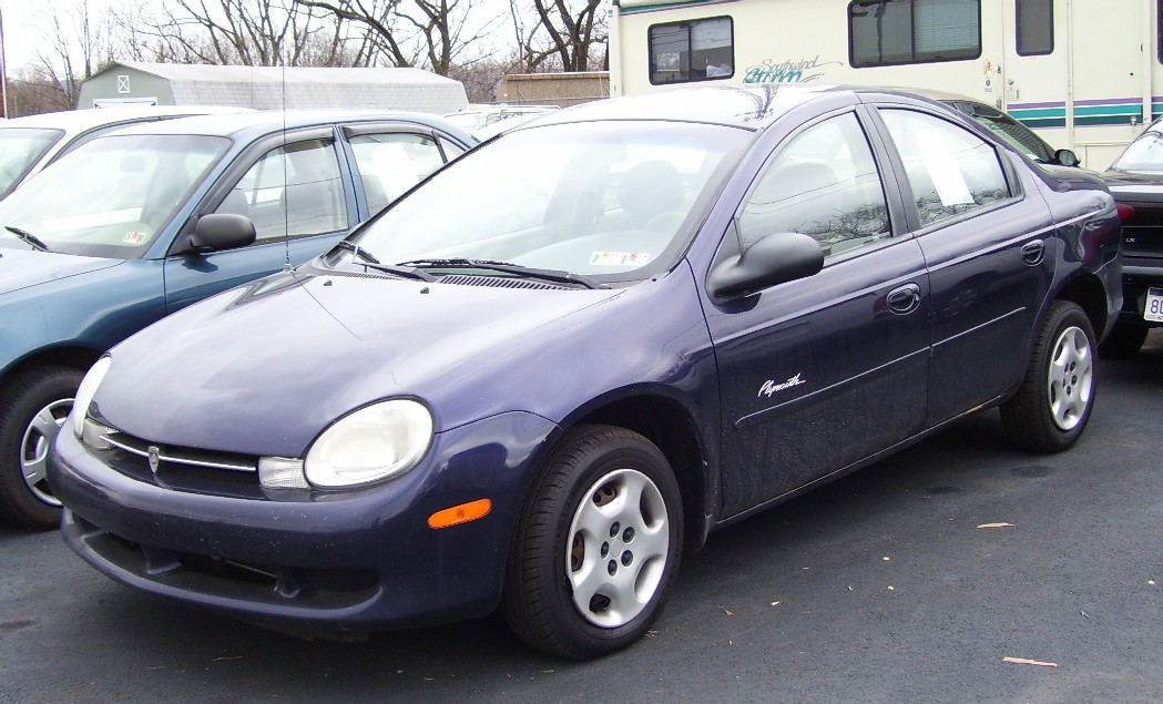 1999 Plymouth Neon, 2000 Dodge Neon 4 Dr Highline Sedan picture ...