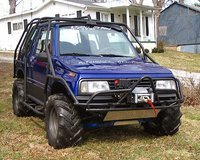 1995 Geo Tracker Overview