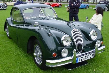 Charming Picture Of 1956 Jaguar XK140, Exterior, Gallery_worthy