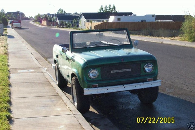 Picture of 1966 International Harvester Scout
