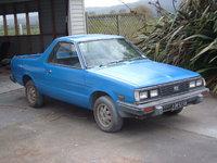 1984 Subaru Brumby Overview