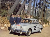 1958 Renault Dauphine, 1958 Monte Carlo Rally winner, exterior