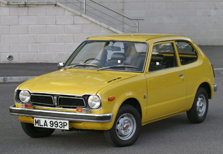 1973 Honda Civic Hatchback picture, exterior