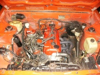 1976 Toyota Corolla SR5 picture, engine