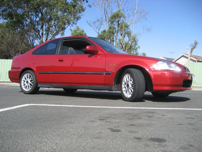 honda civic coupe 1997 tuning wrocawski informator