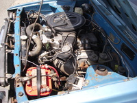 1977 Toyota Corolla DX picture, engine