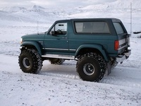 1996 Ford Bronco XL 4WD, 1996 Ford Bronco 2 Dr XL 4WD SUV picture, exterior