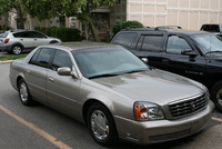 2001 Cadillac DeVille Picture Gallery