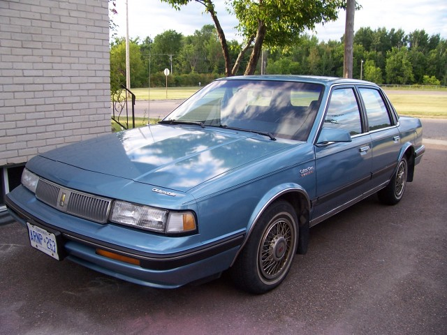 1989 Oldsmobile Cutlass Ciera picture, exterior