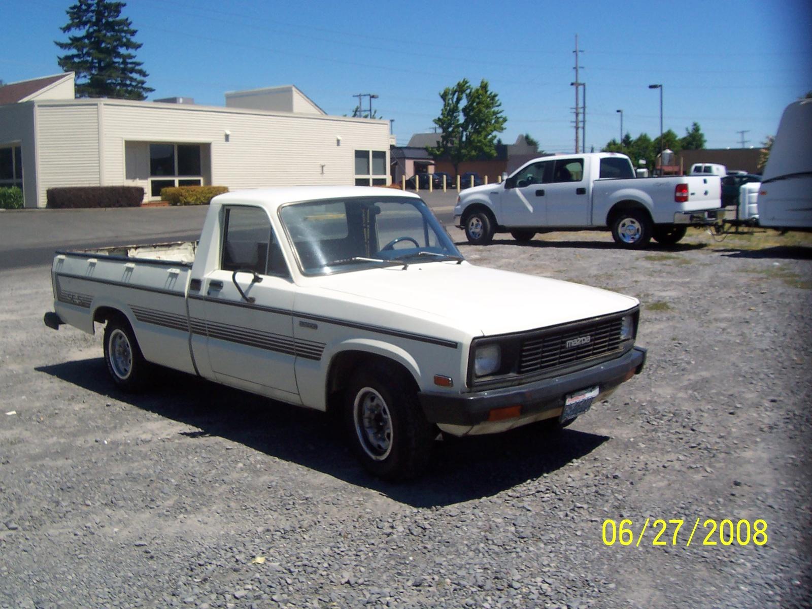 1984 Mazda B2000 Overview Cargurus