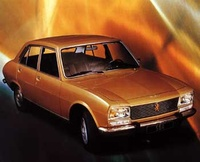1968 Peugeot 504 Overview
