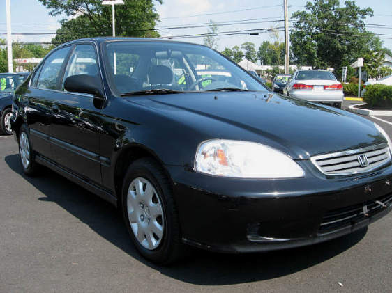 1997 Honda Civic 4 Dr LX Sedan picture