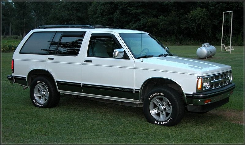 1994 chevrolet blazer - overview