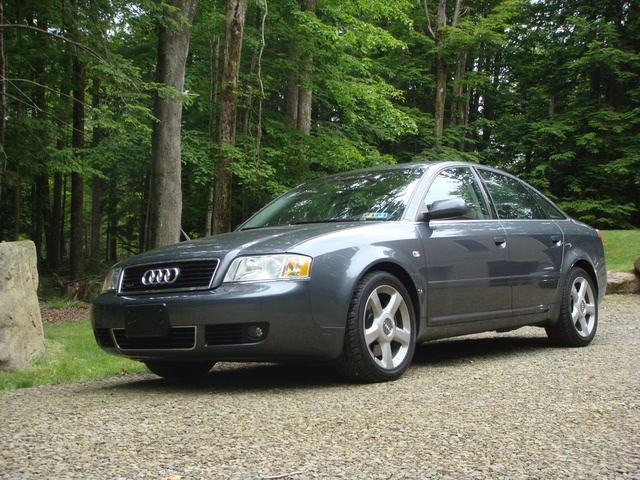 2004 Audi A6 2.7T when it was stock.