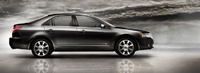 2008 Lincoln MKZ, side view, exterior, manufacturer