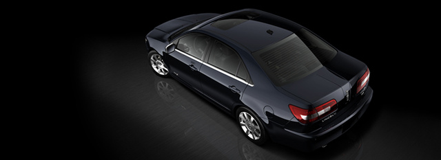 2008 Lincoln MKZ, aerial view, exterior, manufacturer