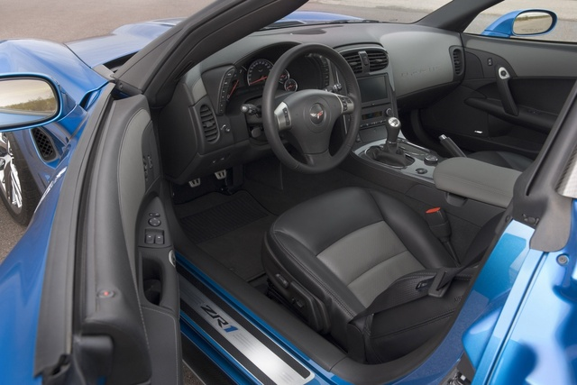 Picture of 2009 Chevrolet Corvette ZR1 1ZR Coupe RWD, interior, gallery_worthy
