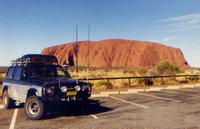 1989 Nissan Patrol at Uluru/Ayers Rock in 1995, exterior
