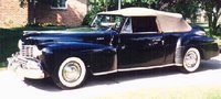 1939 Lincoln Continental Overview