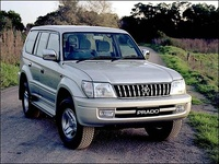 1998 Toyota Land Cruiser Prado Overview