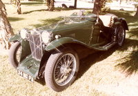 Picture of 1945 MG TC, exterior