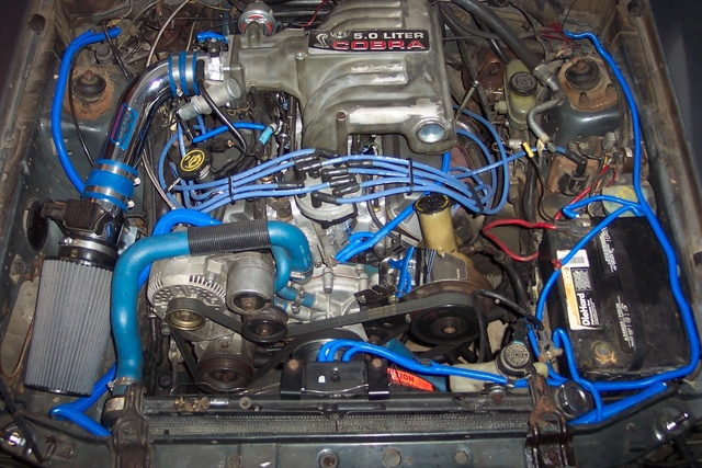 Picture of 1987 Ford Mustang GT, engine