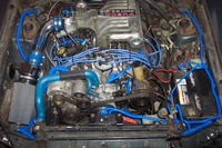 1987 Ford Mustang GT picture, engine