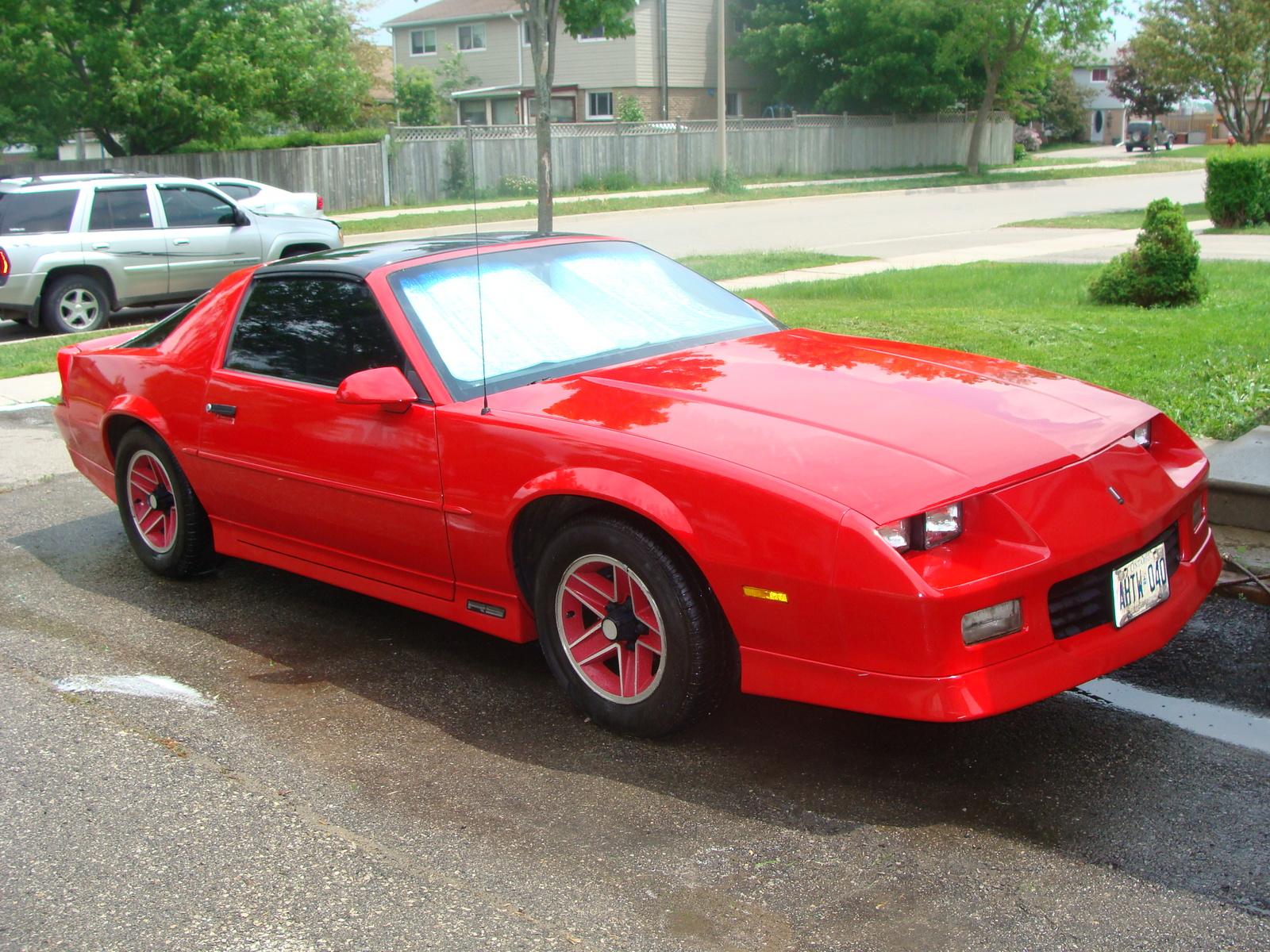 1989 Chevrolet Camaro - Pictures