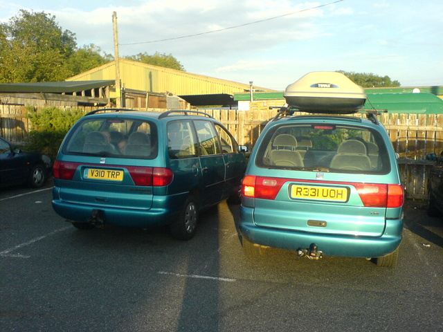 Picture of 1999 Seat Alhambra, exterior