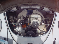 Picture of 1966 Volkswagen Beetle, engine