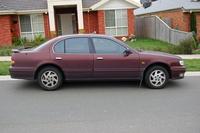 1996 Infiniti I30, 1996 Nissan Maxima 4 Dr SE Sedan picture, exterior