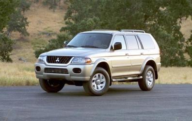Picture of 2003 Mitsubishi Montero Sport XLS, exterior