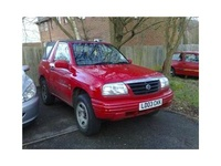 2002 Suzuki Grand Vitara Overview