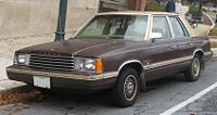 1981 Dodge Aries Overview